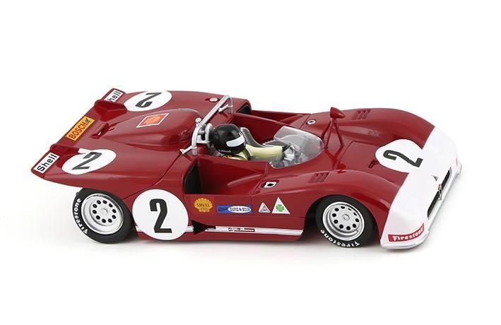 Slot it: l'Alfa Romeo 33/3 #2 2nd Targa Florio 1971 CA11g