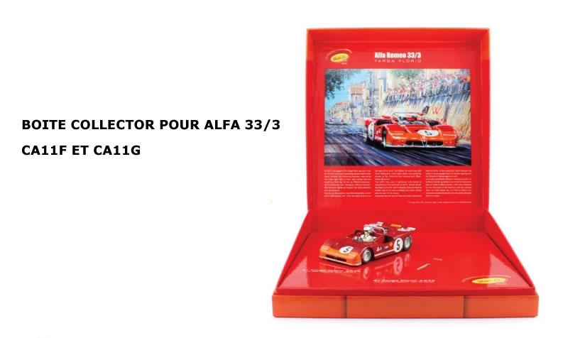 Boite Collector pour Alfa 33-3 Slot it