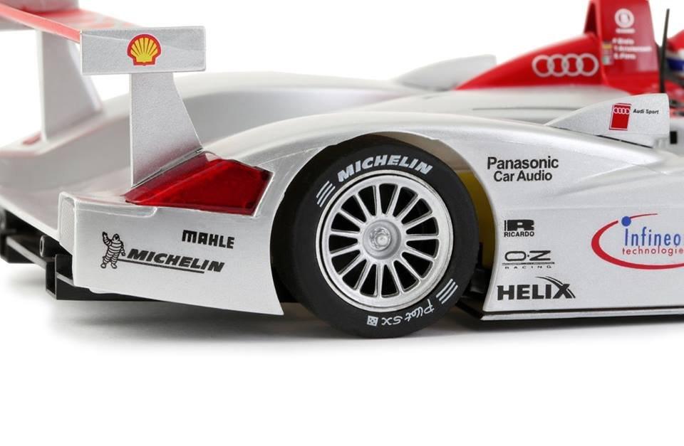 Slot it: L'Audi R8 LMP gros plan