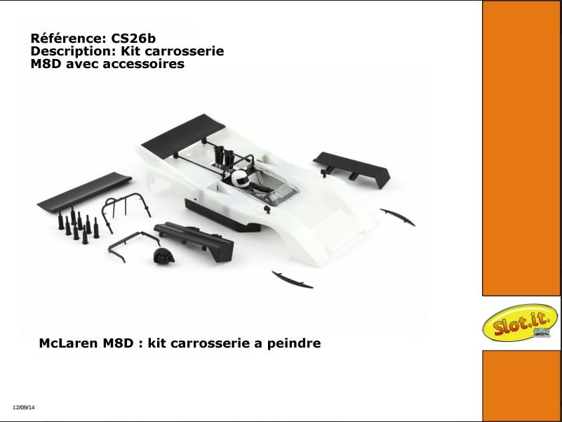 CS26b Carrosserie McLaren M8D