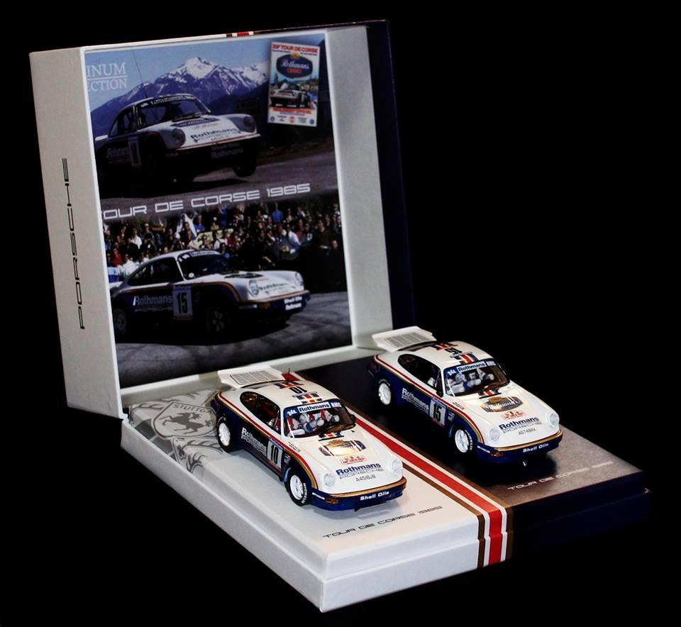 Slotwings: le coffret Team Porsche Tour de Corse 1985