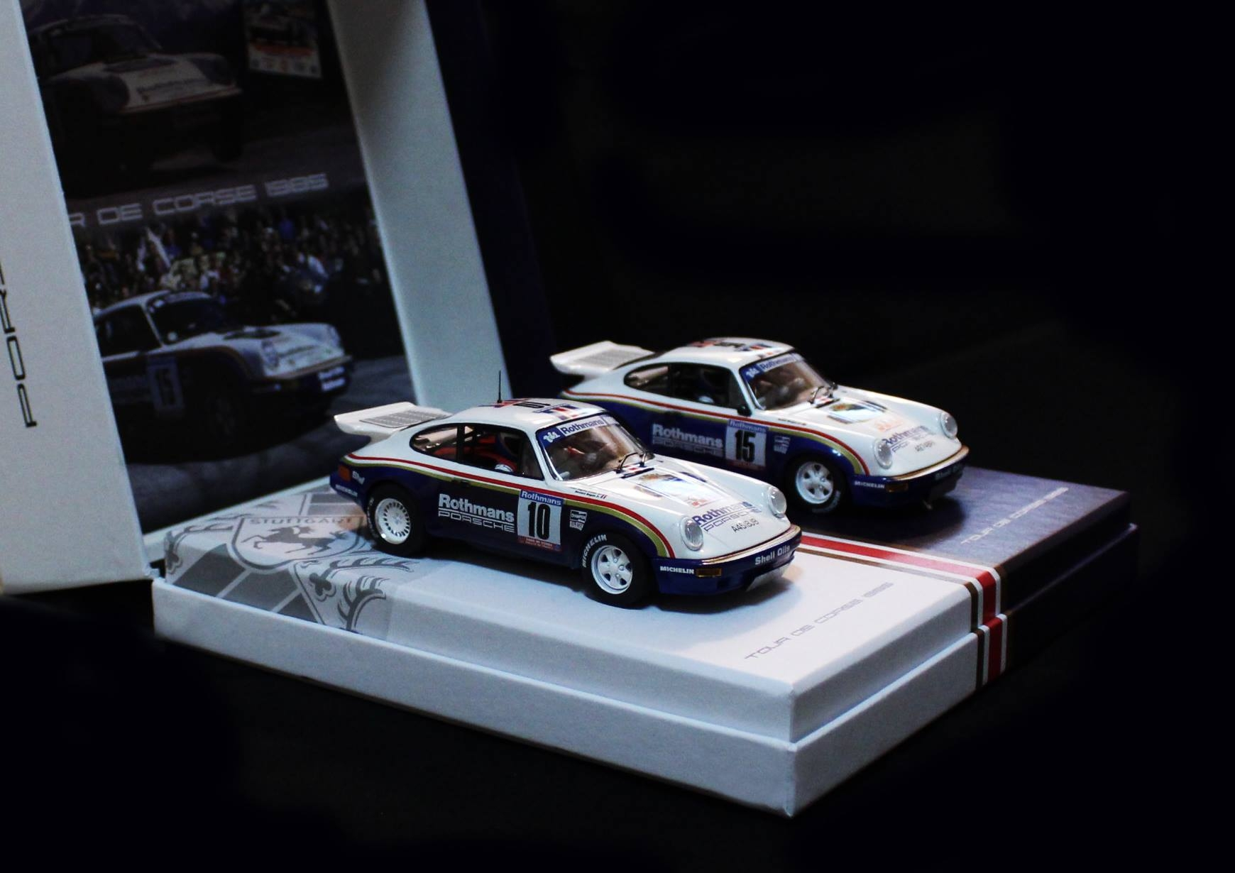 Slotwings: le coffret Team Porsche Tour de Corse 1985