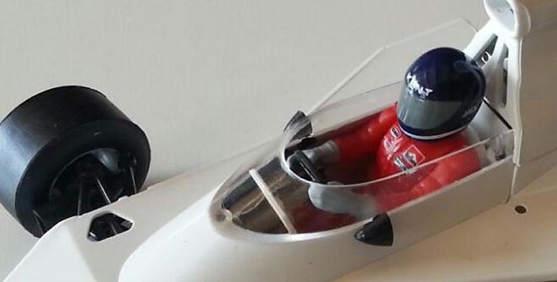 SRC: Les photos du prototype de la McLaren M23 1/32