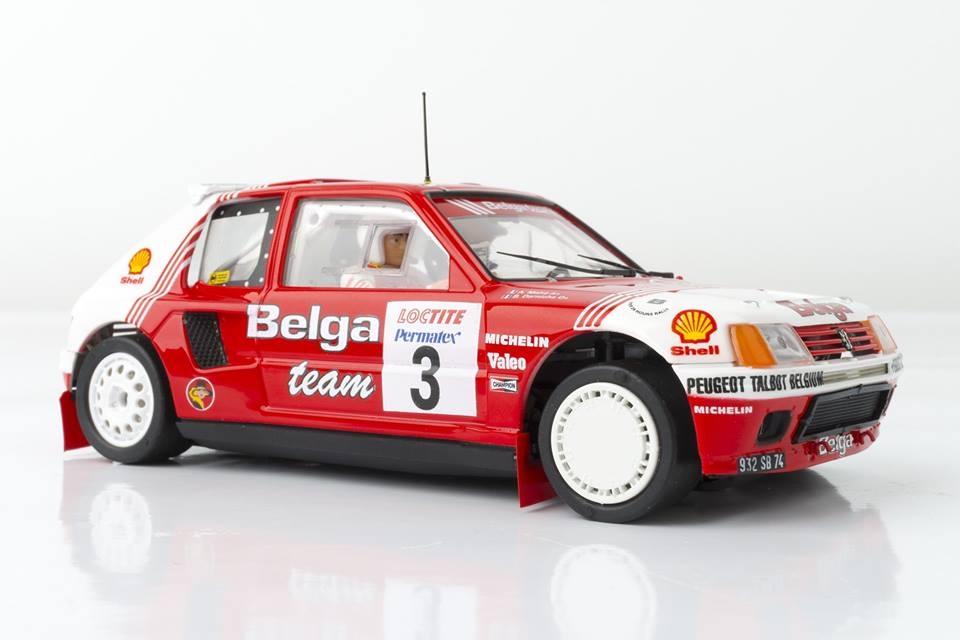 SRC & OSC: Peugeot 205 T16 Evo 1 Belga 1985