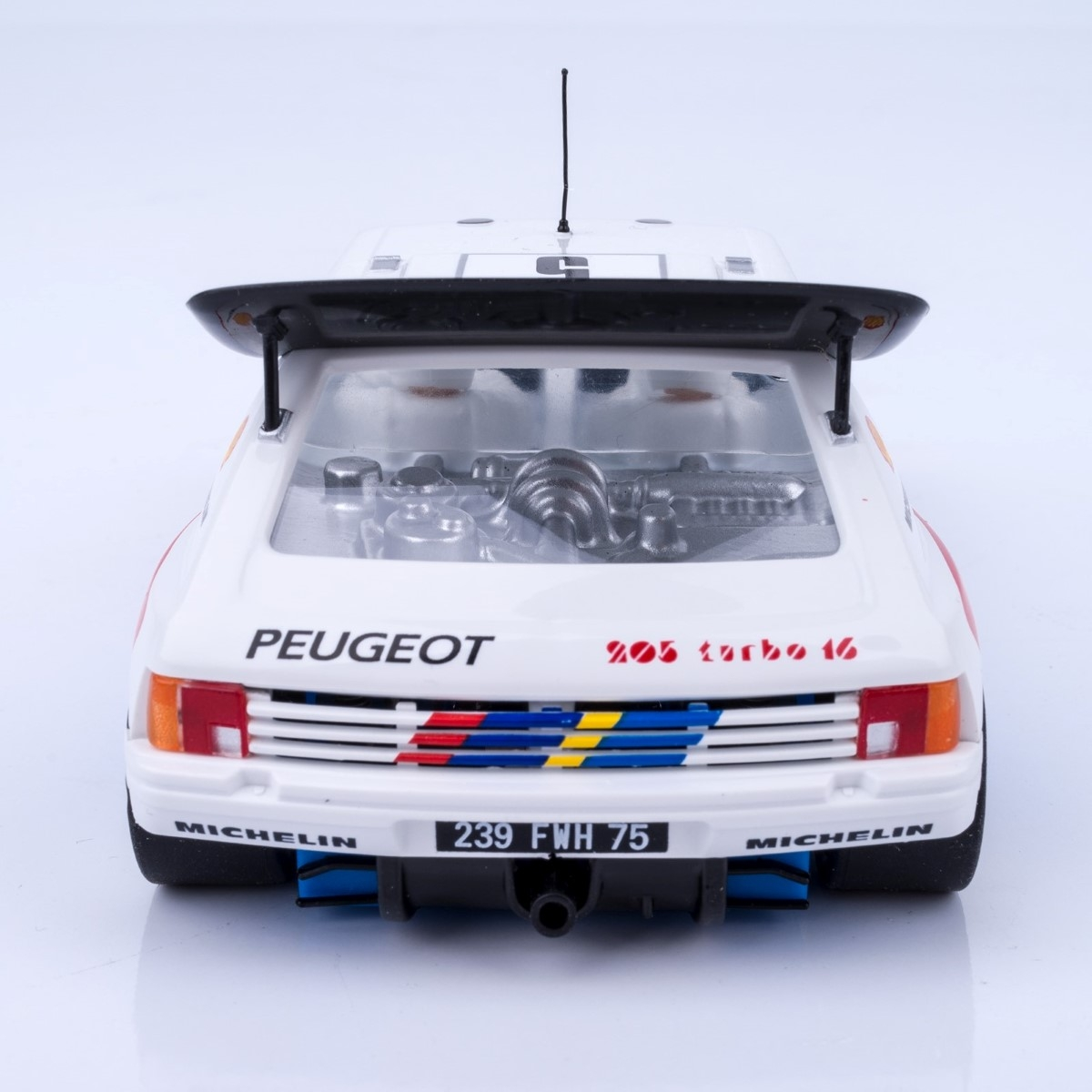 SRC Peugeot 205 T16 Evo2 SABY Tour de Corse nº5 Chrono