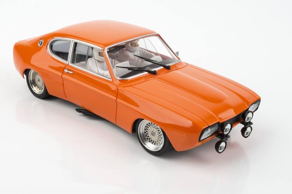 SRC&OCS: Ford Capri RS (Jägermeifter) Monte Carlo 1973 N° 277 ou N° 203