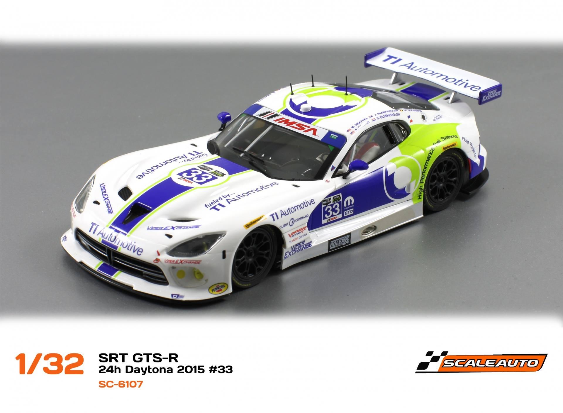1/32 SRT Viper GTS-R 24H Daytona 2015 #33