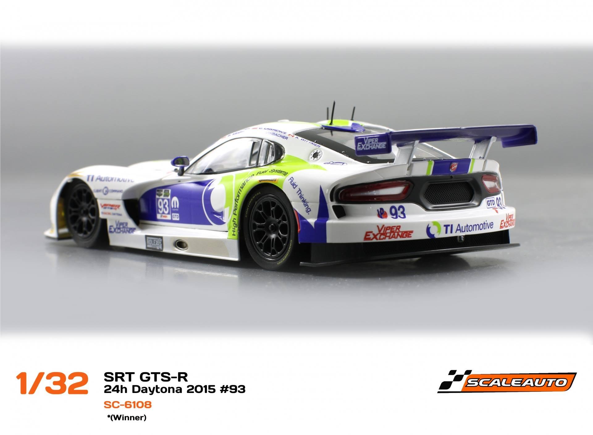 1/32 SRT Viper GTS-R 24H Daytona 2015 #93