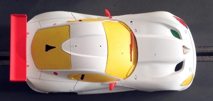 SRT Viper GTS Scaleauto Dessus
