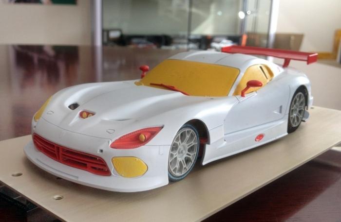 SRT Viper GTS Scaleauto Front