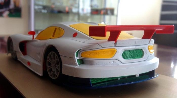 SRT Viper GTS Scaleauto Rear