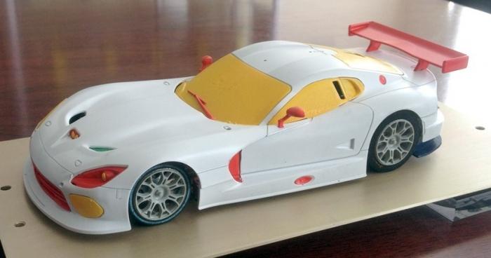SRT Viper GTS Scaleauto Côté
