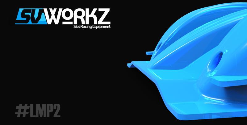 SV WorkZ: Une radical SR3 à l'échelle 1/32 en impression 3D