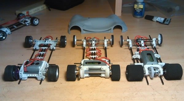 Chassis tubulaire 3D TAZ