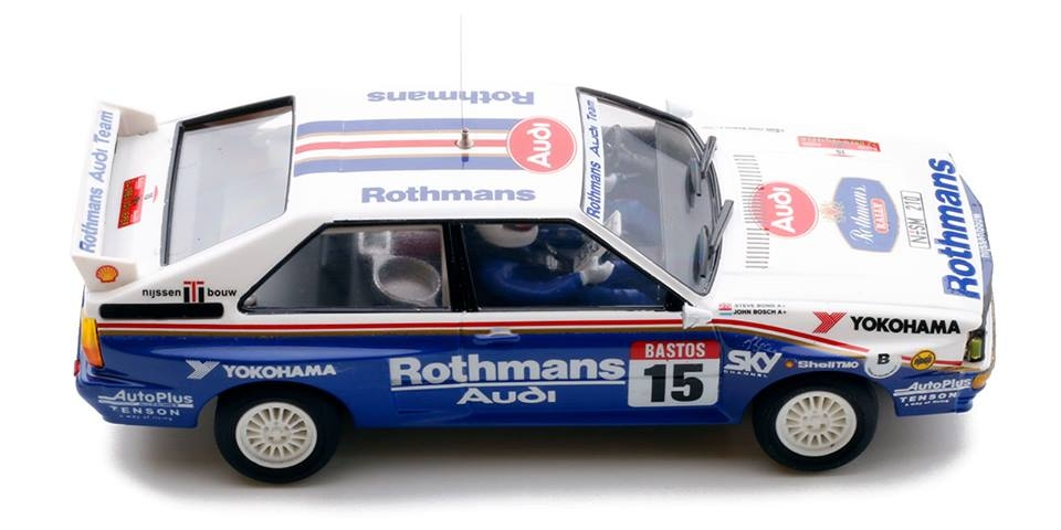 Team Slot: l' Audi Quattro A2 Rhotmans #15 Ypres24 1986