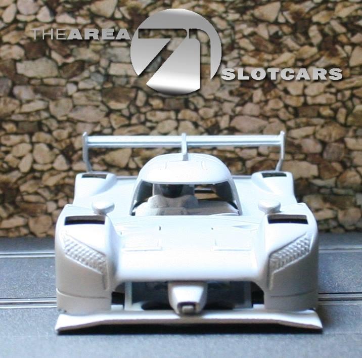 The Area71 Slotcars: la Nissan GT-R LM Nismo LMP pour le slot