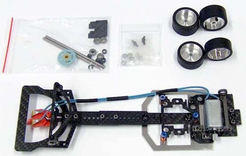 The Area71 Slotcars Un kit carrosserie de F1 en impression 3D pour le châssis Scaleauto