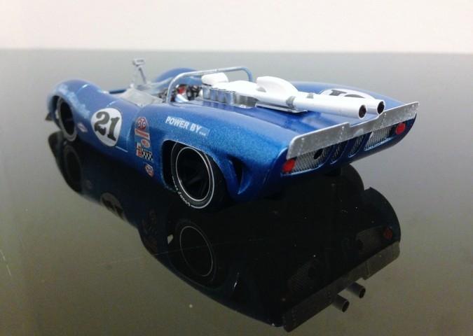 Thunder Slot : les photos du prototype Lola T70 Can-Am Mario Andretti