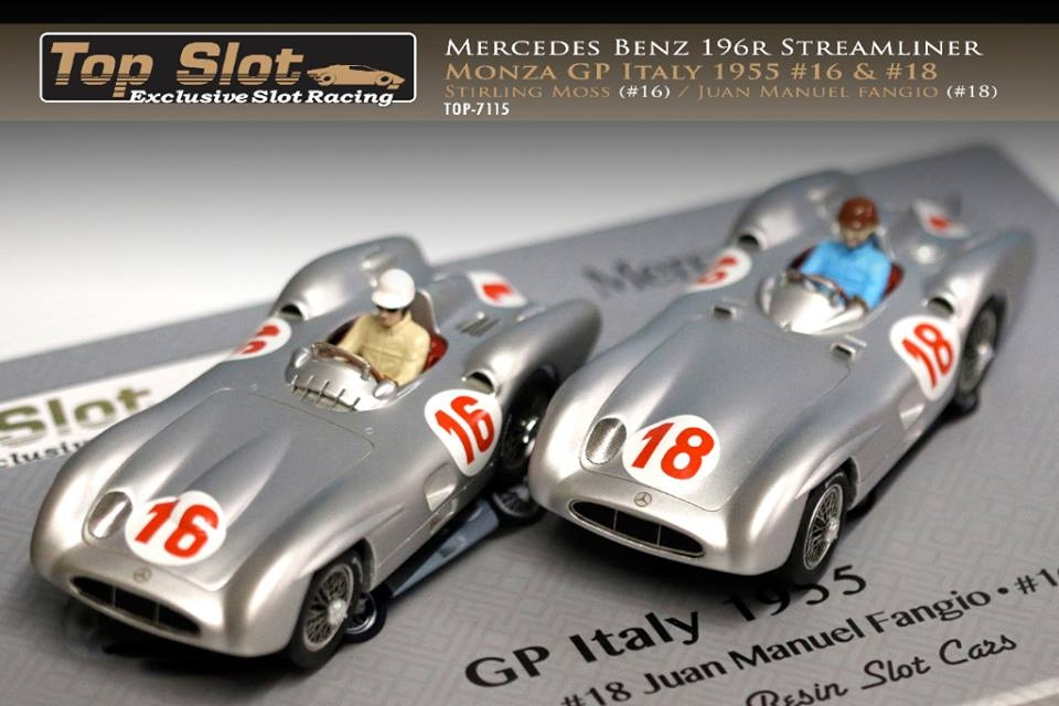 Top Slot coffret Mercedes W196 Monza TOP-7115