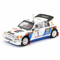 La Peugeot 205 T16 Evo 2 Timo Salonen Rallye Monte-Carlo 1986 OSC/SRC