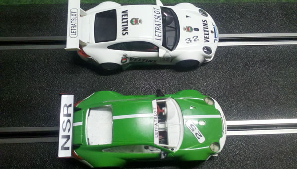 Porsche 997 NSR N°25 & 32