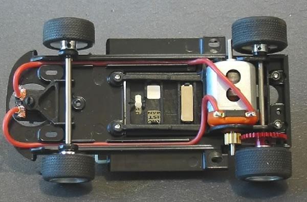 Chassis de la Ferrari 250LM RACER