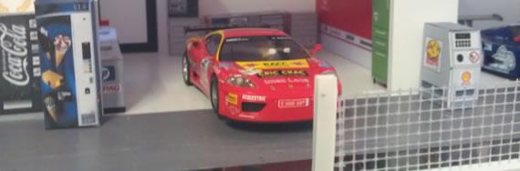 La Ferrari dans son stand