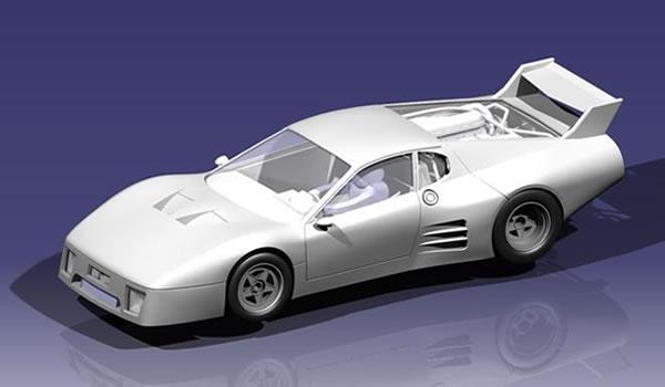 FlySlot - Ferrari 512 BB