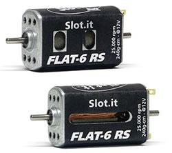 Moteur Flat-6 RS