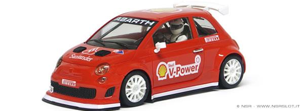 1124SW - Abarth 500 Assetto Corse - Limited Edition F1 Ferrari
