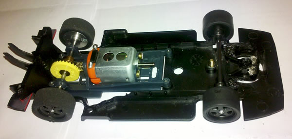 Chassis Chassis Lancia LC2 Letratslot