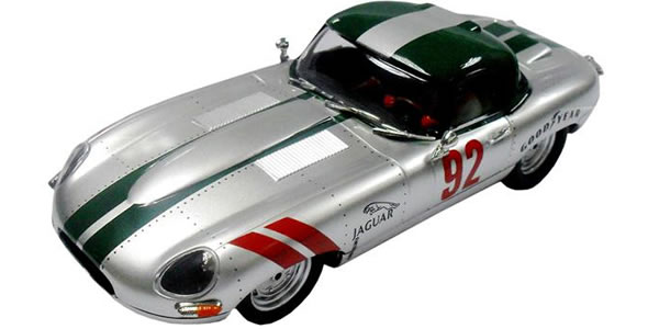 Jaguar Type E Roadster-Silver 62 Ninco