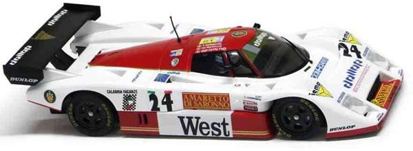 Slot-it Lancia LC2/85 - n. 24 24h Le Mans 1988