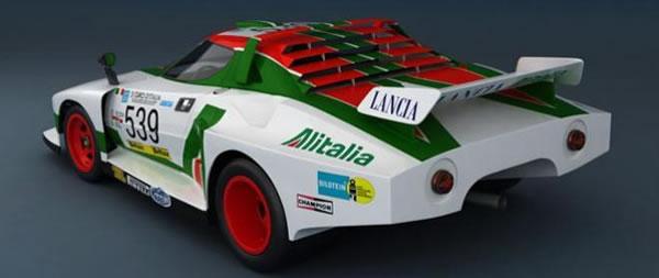 Lancia Stratos turbo Silhouette