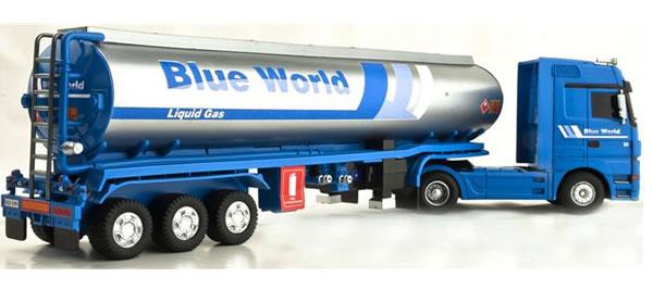 Mercedes Actros V8 Blue World