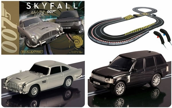 Scalextric C3268A Skyfall 1