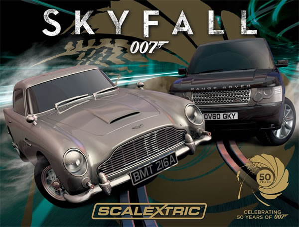 Scalextric C3268A Skyfall