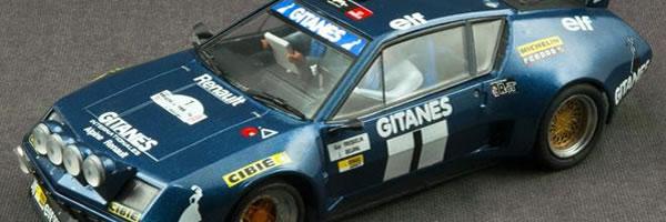 Team Slot - Alpine A310 V6 Groupe 5 Rallye du Var 1976