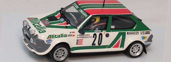 Chichicars: présente pour le slot une Fiat Ritmo 75 Abarth Alitalia 79