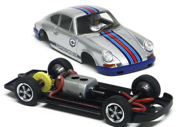 Racer - Porsche 911 S Silver pieces Slot it