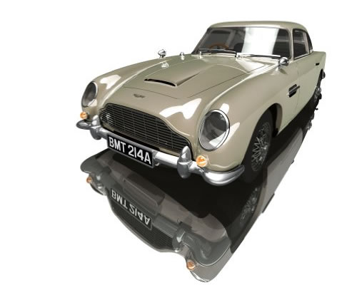 SCALEXTRIC C3163A - Aston Martin DB5 - Golden Eye