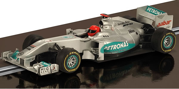 SCALEXTRIC C3263 - Mercedes Petronas GP Michael Schumacher 2012