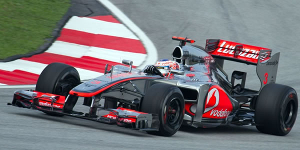 SCALEXTRIC C3265 - Vodafone McLaren Mercedes Jenson Button