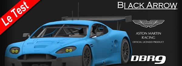 Test de l Aston Martin DBR9 Black Arrow