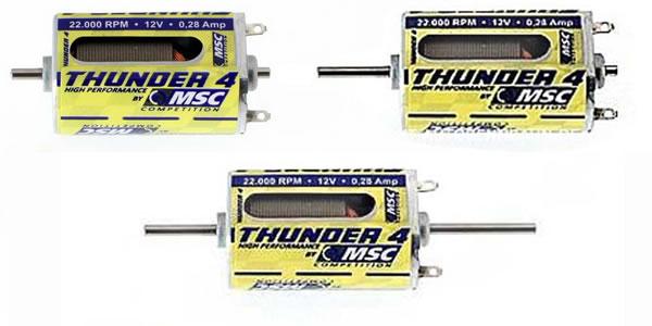 Moteurs Thunder 4 MSC