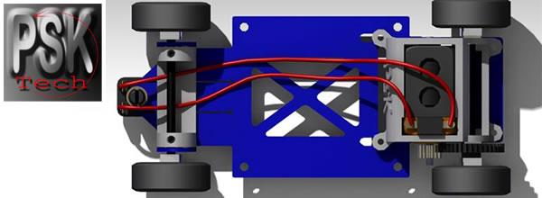PSK Tech: Un nouveau châssis métal pour le slot