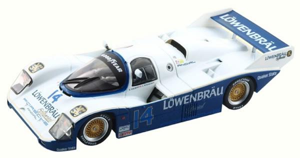 Porsche 962 IMSA n14 2nd Sebring 1987 CA25b