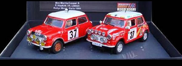Scalextricpassion - Coffret Mini Cooper S SP006