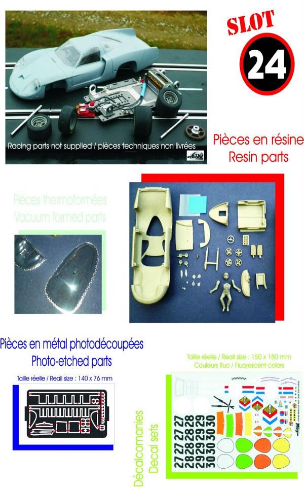 LE MANS Miniature Kit Alpine A220 réf 124085