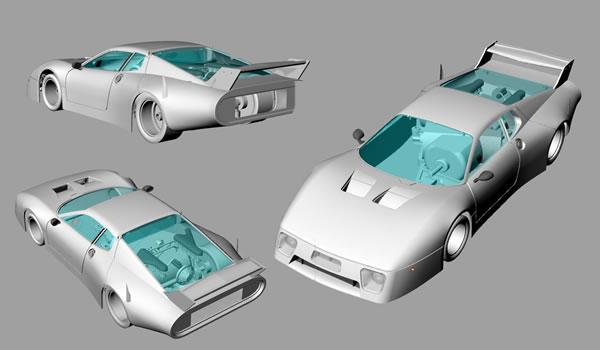 Sideways - Ferrari 512